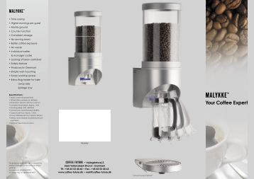 Coffee Future_final engelsk.indd - Espresso Parts