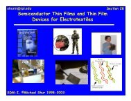 Semiconductor Thin Films and Thin Film Devices for ... - Nano Mahidol