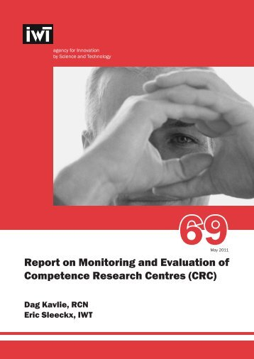 Report on Monitoring and Evaluation of Competence ... - Vinnova
