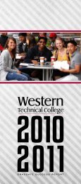 10-11 Graduate Success Report - Western Technical College