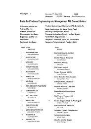 Preis der Prodema Engineering und Management AG, Bronschhofen