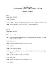 2013 China Law Links September 19, 20 and 21 2013