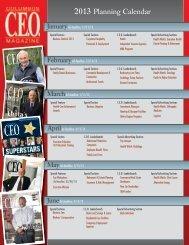 to view our editorial calendar - Columbus CEO