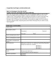 Vragenlijst leerlingen scholenonderzoek Sport en ... - Mulier Instituut