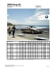 Last ned. Gyldig prisliste for BMW 3-serie Cabriolet (PDF, 233k).