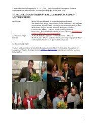 loppuraportti - Svenska studiecentralen