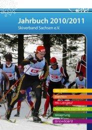 Jahrbuch 2010/2011 - Skiverband Sachsen eV