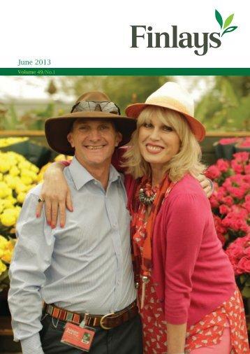 Volume 49, No.1 June 2013 - Finlays