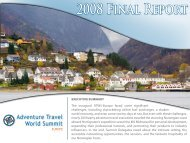Europe: FINAL REPORT - Adventure Travel Trade Association