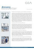 Newsletter - GEA Brewery Systems - Page 2