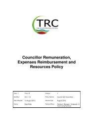 Councillor Remuneration, Expenses Reimbursement and ...