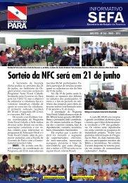 Informativo nº 165 - Maio - Sefa - Governo do Estado do Pará