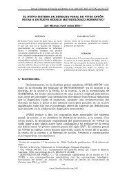 el nuevo sistema de derecho penal de vives antón - Revista ...