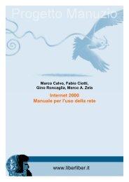 Internet 2000, Manuale per l'uso della rete - Liber Liber