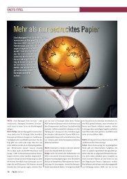Mehr als nur bedrucktes Papier - FACTS Verlag GmbH