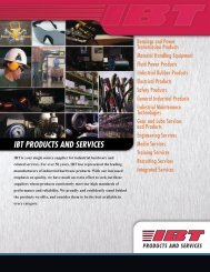 Download Our Complete Line Card - IBT, Inc.