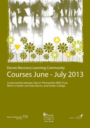 to view the prospectus, courses on offer and how to book - Devon ...
