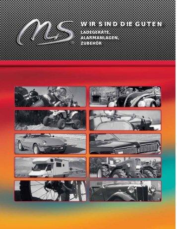 Produktkatalog 2011 - M+S Solution GmbH