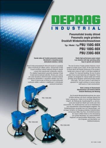 PBU 180G−80X PBU 230G−80X