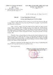 Công bố thông tin tự nguyện giao dịch của công ty con - Masan Group