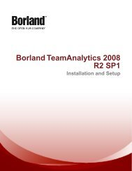 Database Schemas - Borland Technical Publications
