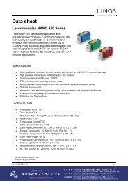 Dats sheet NANO250