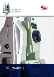 Leica TDRA6000 Product Brochure - GeoWILD