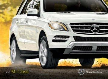 2012 Mercedes-Benz M-Class - Mercedes-Benz USA