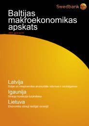 Aprīlis 2009 - Swedbank
