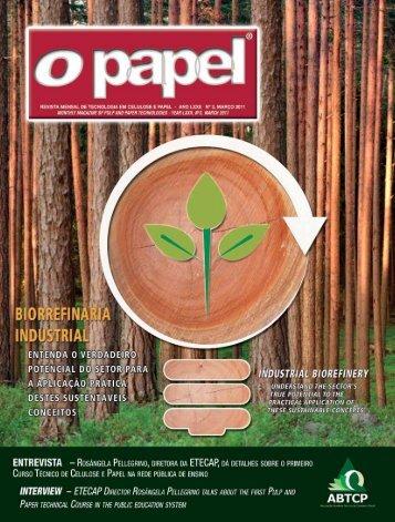 clique aqui e confira a edição de março da o papel - Revista O Papel