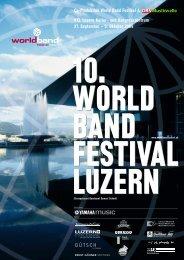 Co-Produktion World Band Festival & KKL Luzern Kultur- und ...
