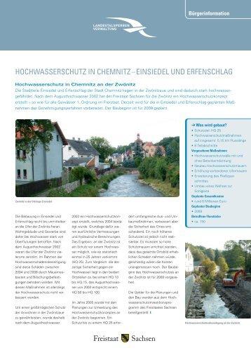 hochwasserschutz in chemnitz – einsiedel und erfenschlag