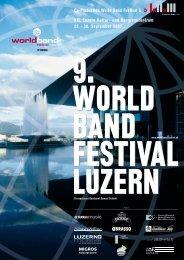 30. September 2007 - World Band Festival Luzern