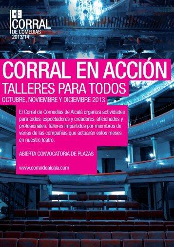 CORRAL EN ACCIÓN - Corral de Comedias