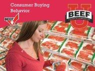 Consumer Buying Behavior - BeefRetail.org