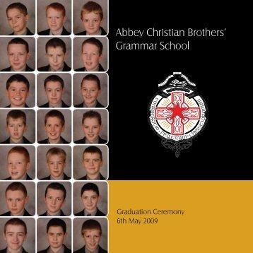 Graduation 2009 - The Abbey Christian Brothers' Grammar School