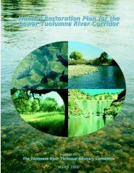 Tuolumne River Report - U.S. Fish and Wildlife Service