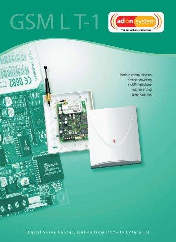 GSM LT-1 ang.pdf - ADON SYSTEM