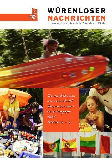 Würenloser Nachrichten 2/2006 - Gemeinde Würenlos