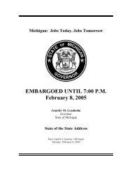EMBARGOED UNTIL 7:00 P.M. February 8, 2005 - Wzzm 13