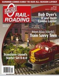 w - O Gauge Railroading Magazine