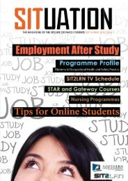SITuation magazine September 2012 (5MB) - Southern Institute of ...