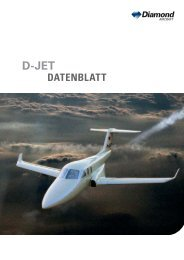 DATENBLATT - Diamond Aircraft