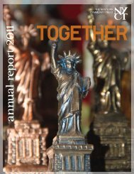 an n u al report 2011 - The New York Community Trust