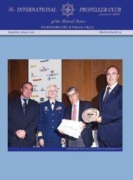 Newsletter, January 2010 Ι Volume 8, Number 23 - propeller club