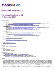 OASIS CGM Open WebCGM V2.1 - OASIS Open Library