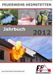 Jahrbuch 2012 - Freiwillige Feuerwehr Heimstetten