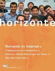 Horizonte Nr. 92 herunterladen (PDF 5 MB) - Schweizerischer ...