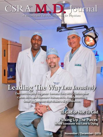 CSRA MD Journal - Doctors Hospital