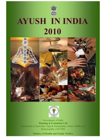 Growth in AYUSH Hospital from 1993 to 2010 - Similima
